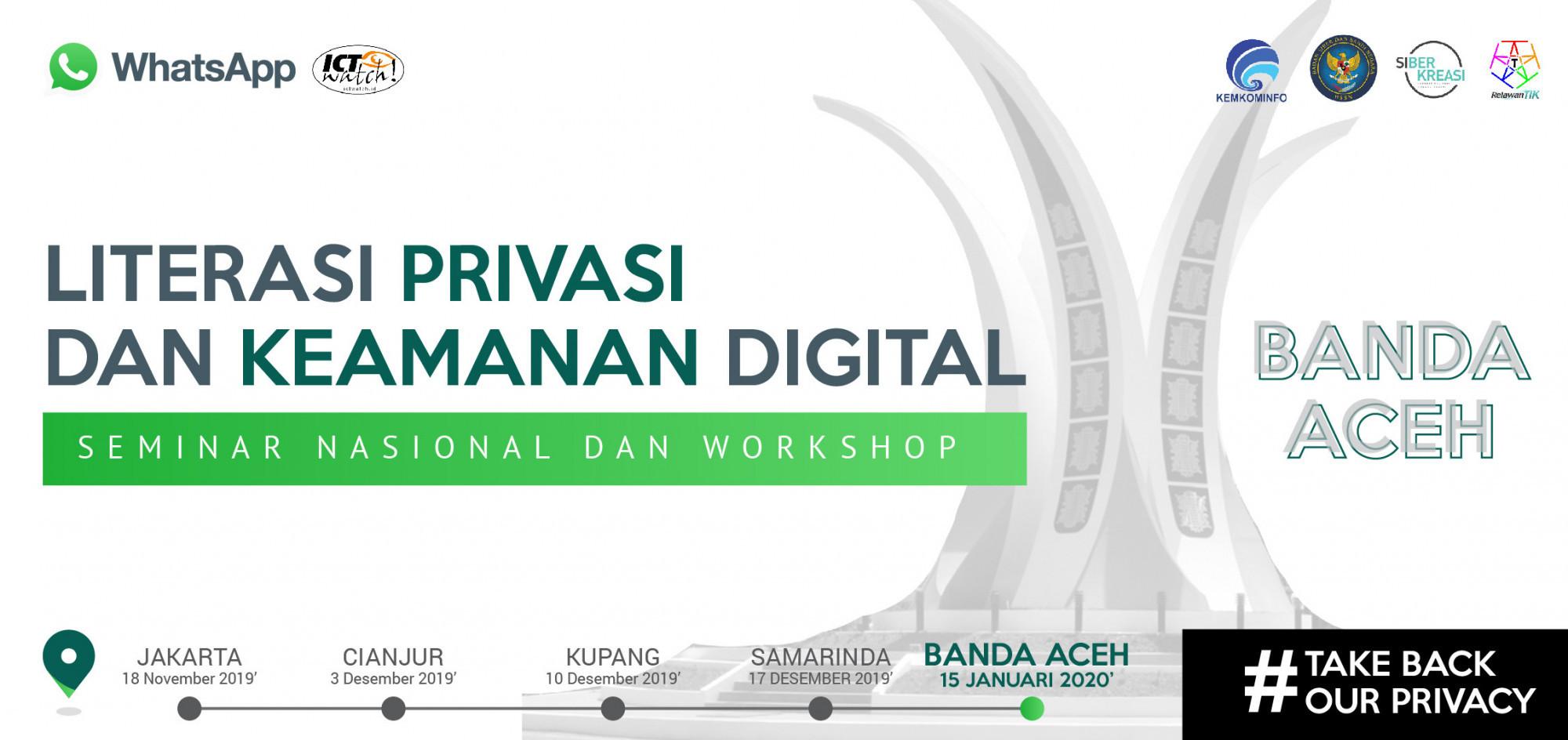 Seminar Literasi Privasi dan Keamanan Digital