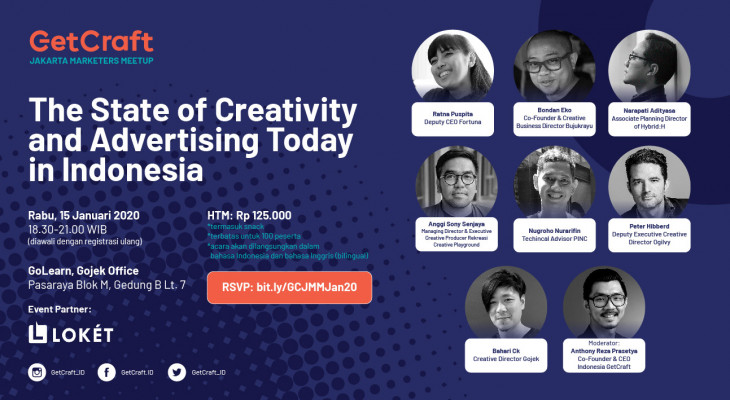 Jakarta Marketers Meetup: Creativity and Advertising Today