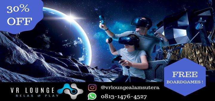 Main VR di VR Lounge Alam Sutera