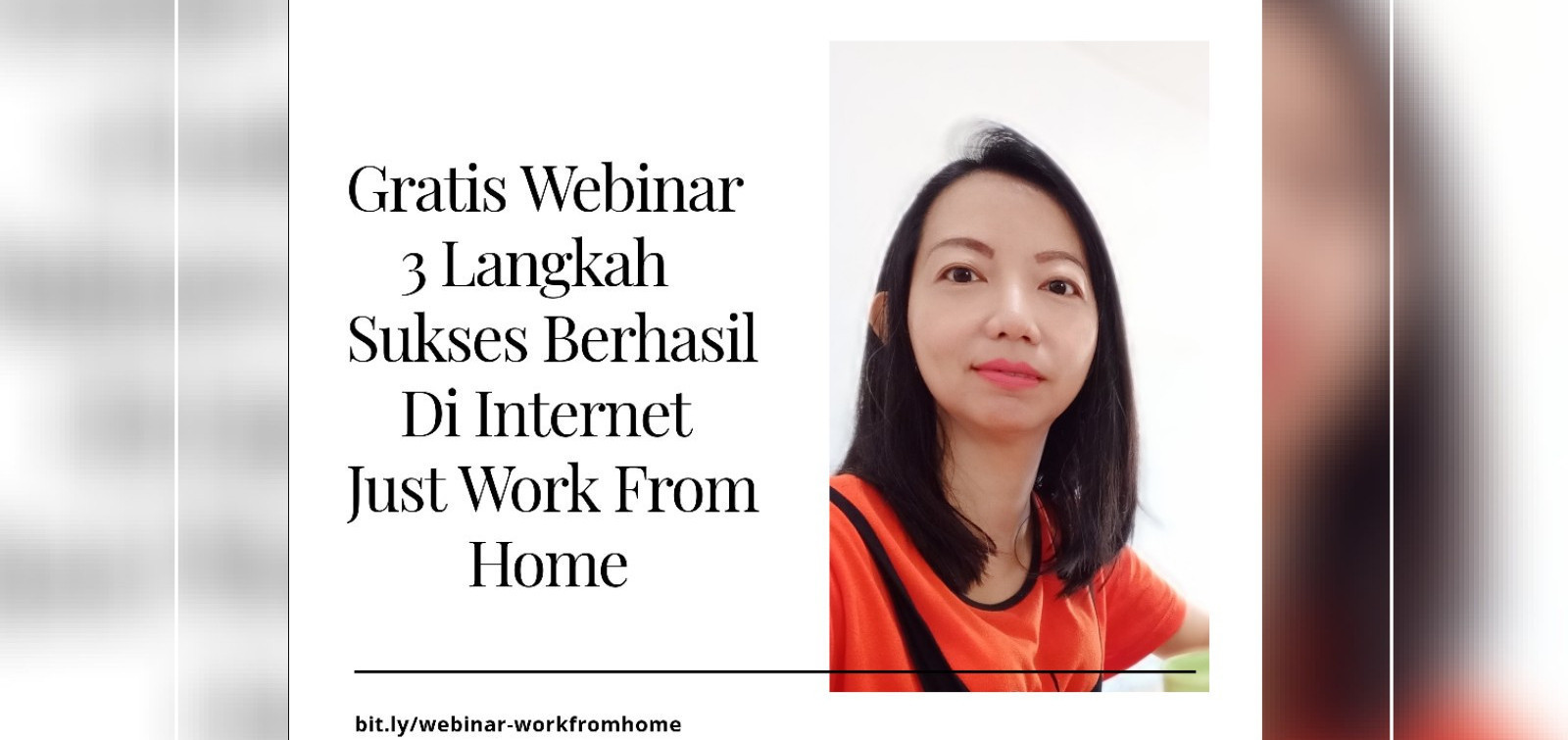 Webinar Suskes Bisnis Dalam Internet /Fasttrack Your Income Jessica 081806201776