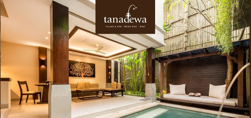 PAY NOW STAY LATER VOUCHER AT TANADEWA VILLAS AND SPA NUSA DUA