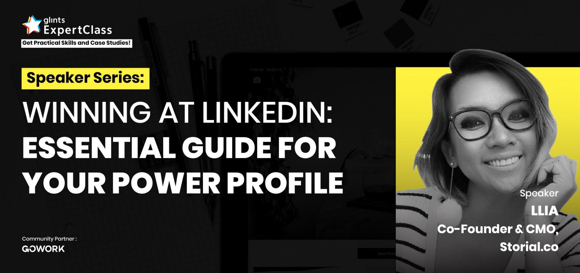 poster profile linkedin