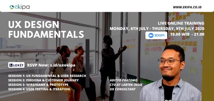 UX Design Fundamentals by Ekipa