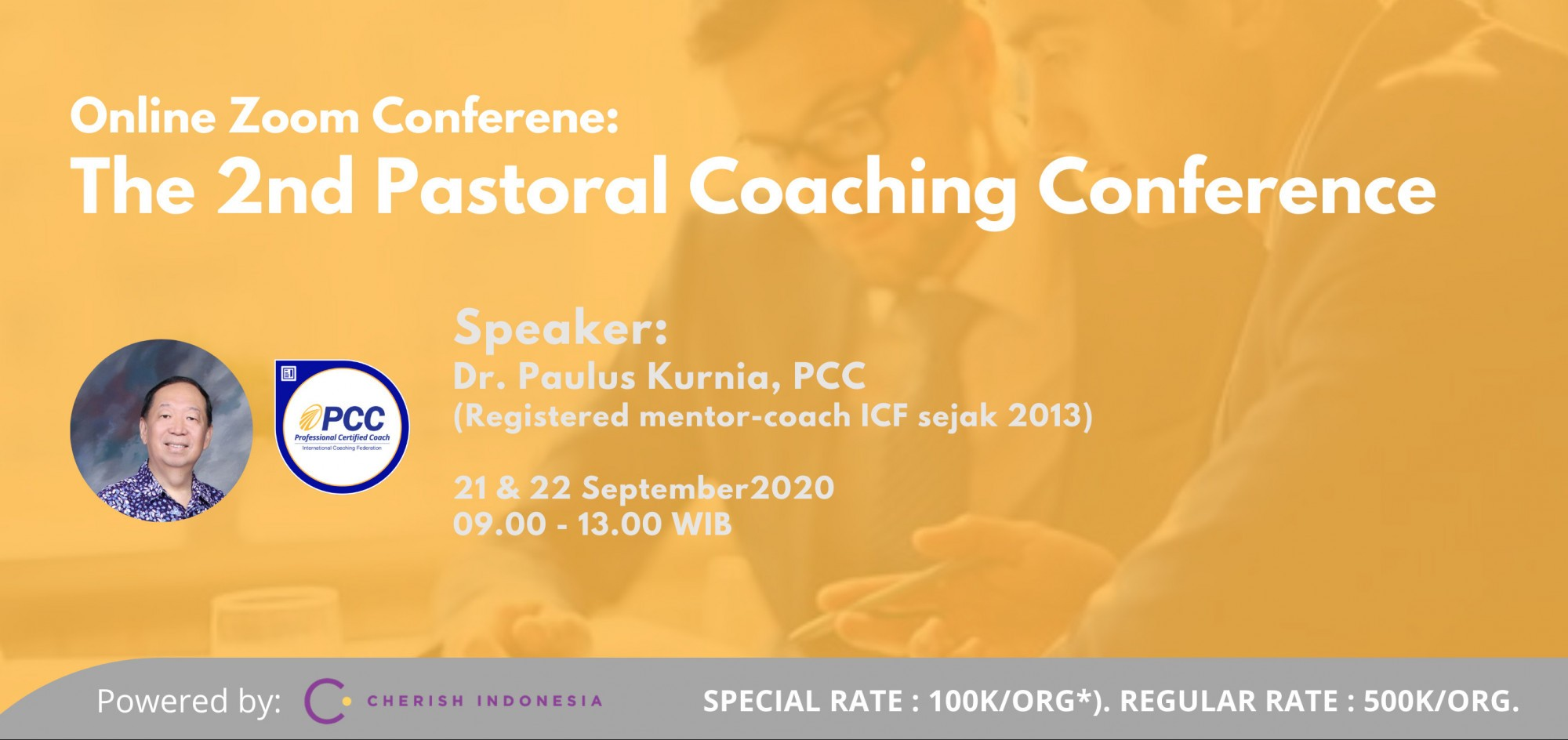 The 2nd Pastoral Coaching Conference