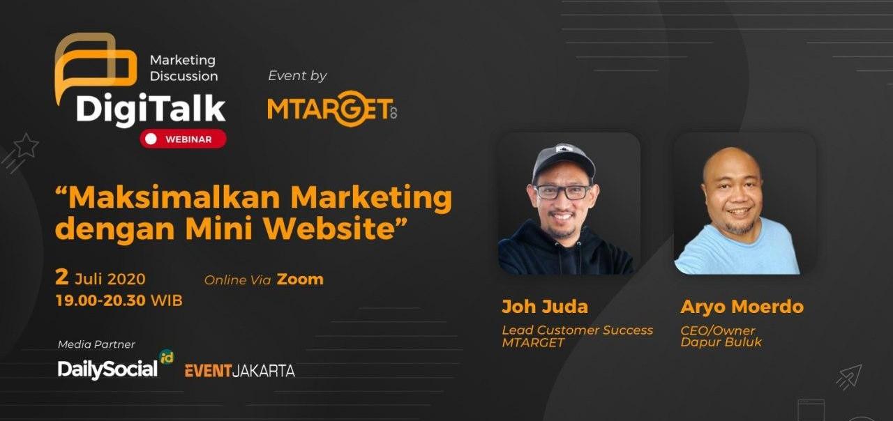 marketing mini website