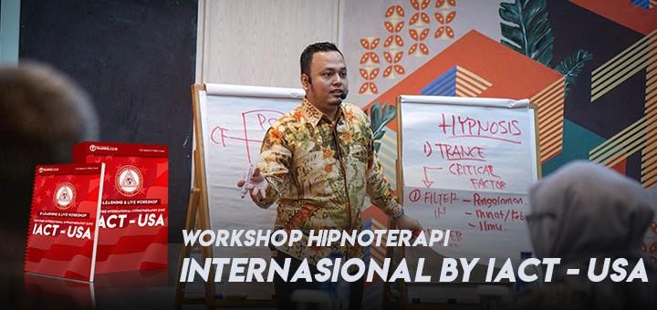 Seminar Online + Kelas Workshop Hipnoterapi IACT - USA