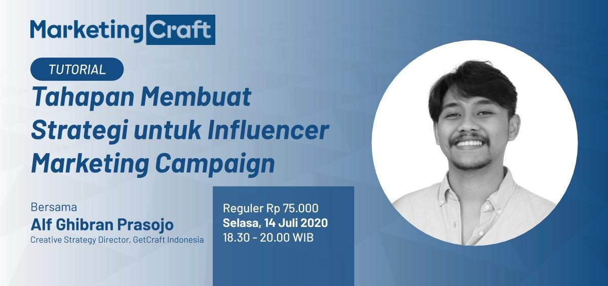 Online Tutorial: Tahapan Membuat Strategi untuk Influencer Marketing Campaign