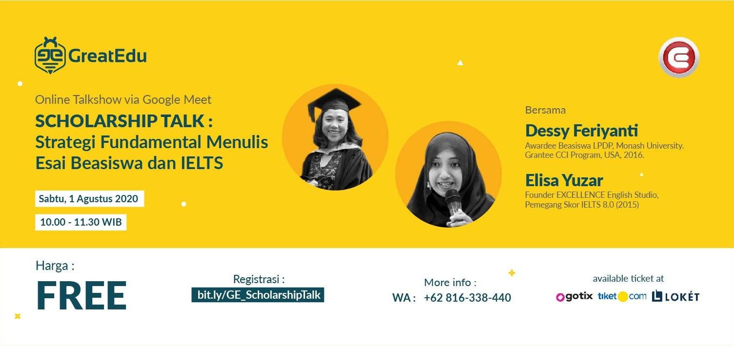 scholarship talk