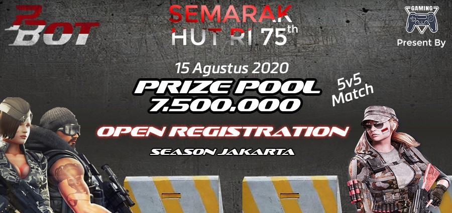 Tournament PBOT 2020 Season Jakarta