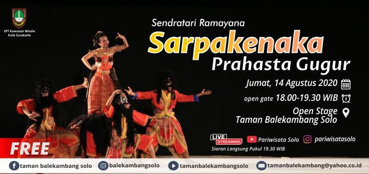 "Sendratari Ramayana ""Sarpakenaka Prahasta Gugur"""