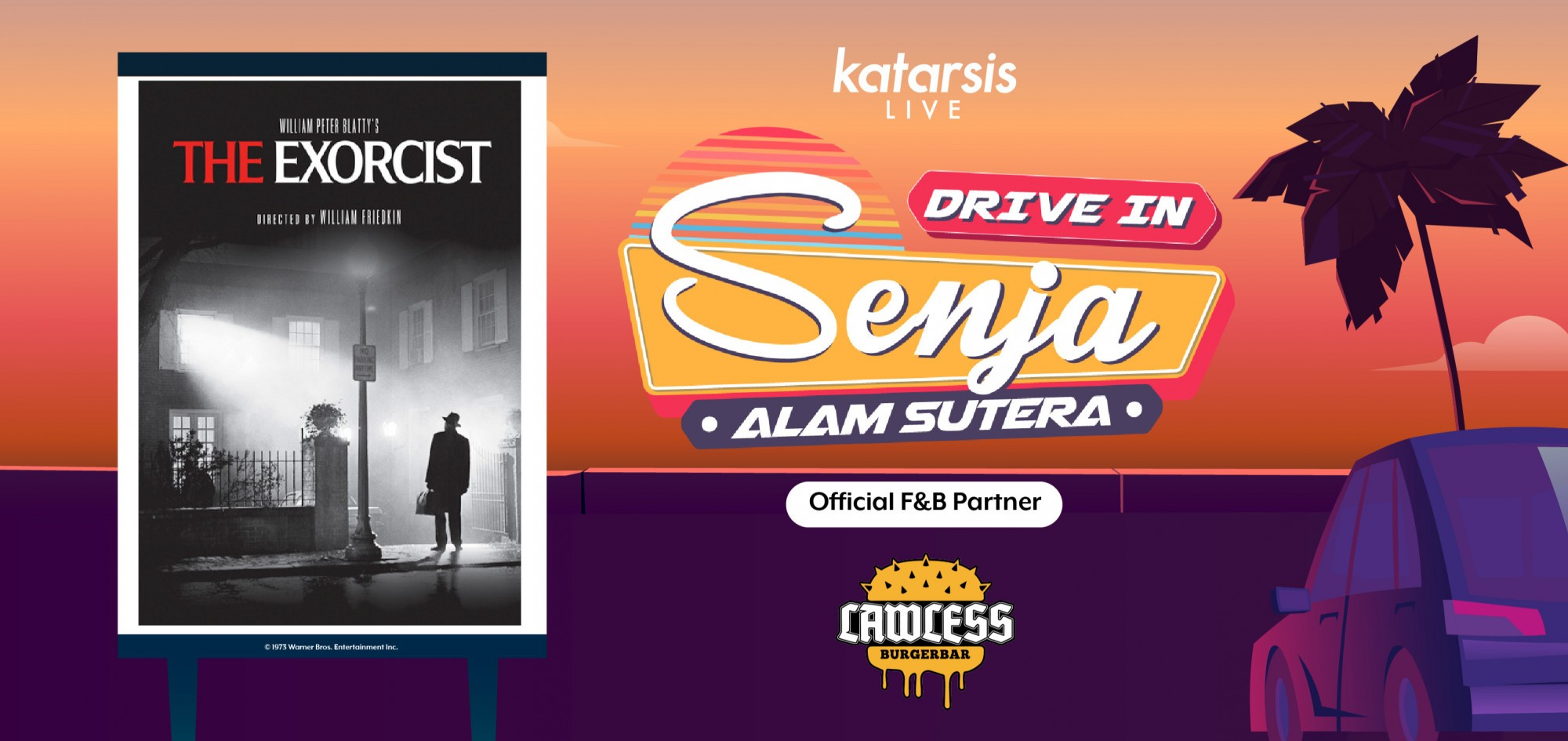 Drive-In Senja Alam Sutera: The Exorcist