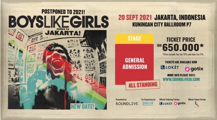Boys Like Girls Concert 2021