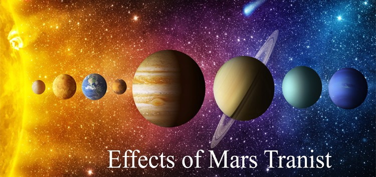 Accurate Life prediction by date of birth Free: Effects of Mars Transit