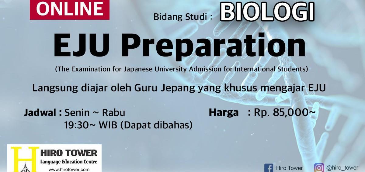 Persiapan untuk masuk ke UNIVERSITAS JEPANG - BIOLOGI