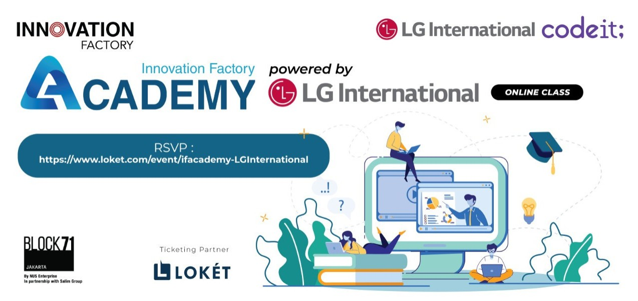 "IF Academy: ""All about Coding & Python"" Powered by LG International"