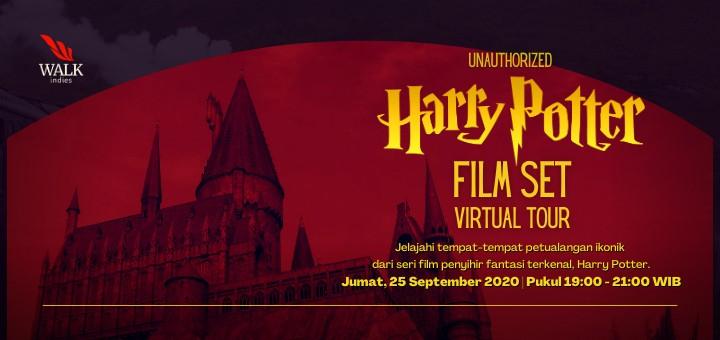 "VIRTUAL TOUR ""UNAUTHORIZED HARRY POTTER FILM SET""."
