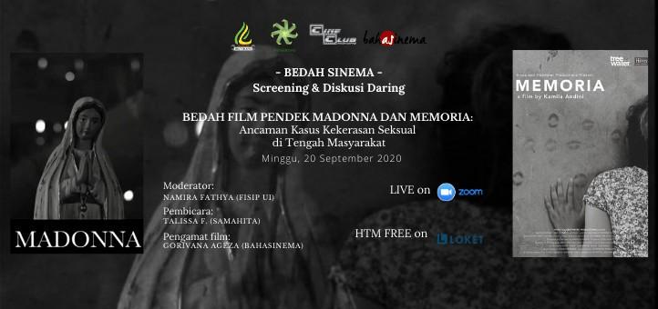 Bedah Sinema: Screening & Diskusi Daring