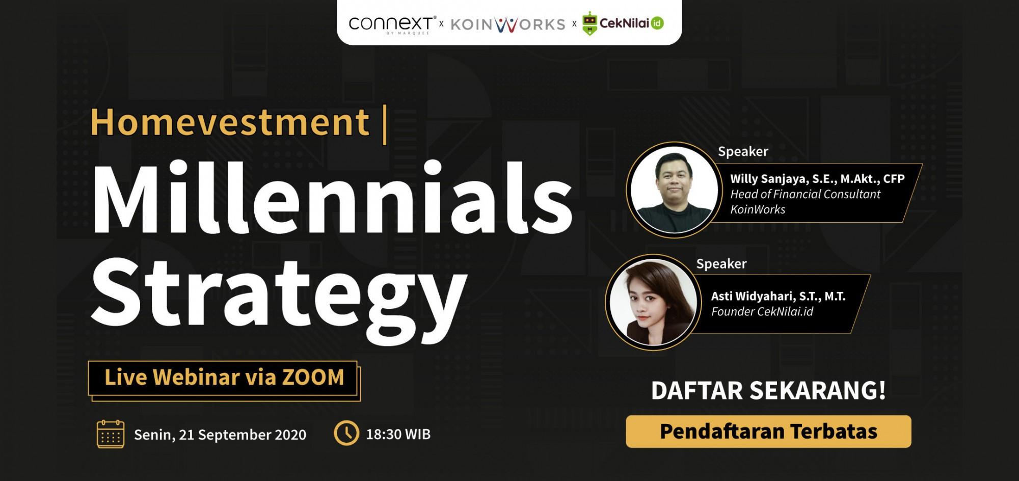 Homevestment | Millennials Strategy