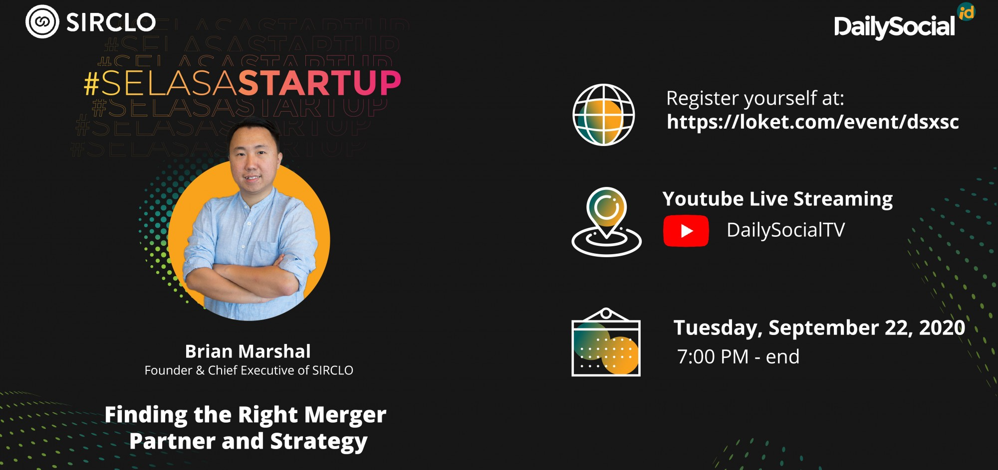 Webinar #SelasaStartup Finding the Right Market Partner and Strategy