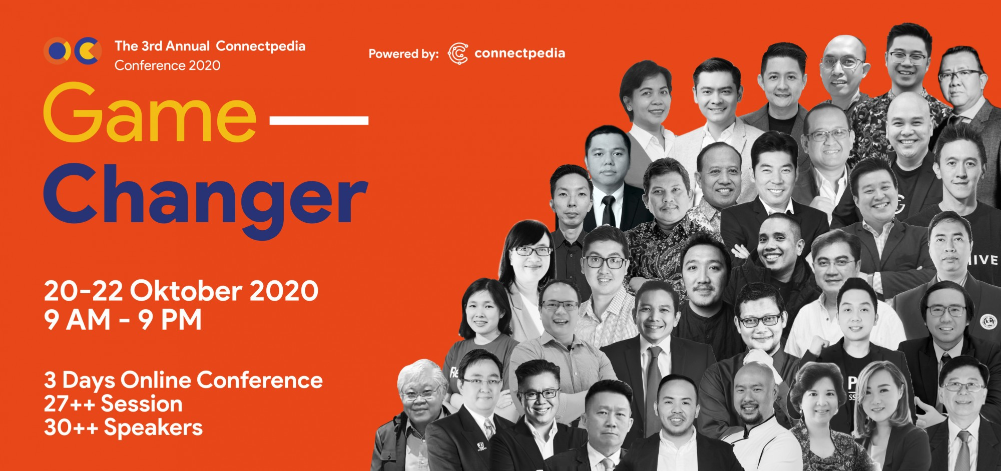 Connectpedia Conference 2020 Game Changer