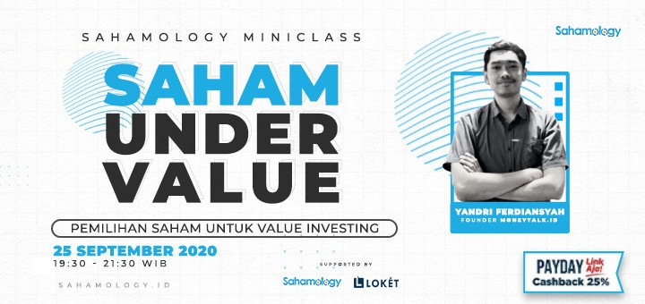 Under Value Stock for Value Investing - Sahamology.id
