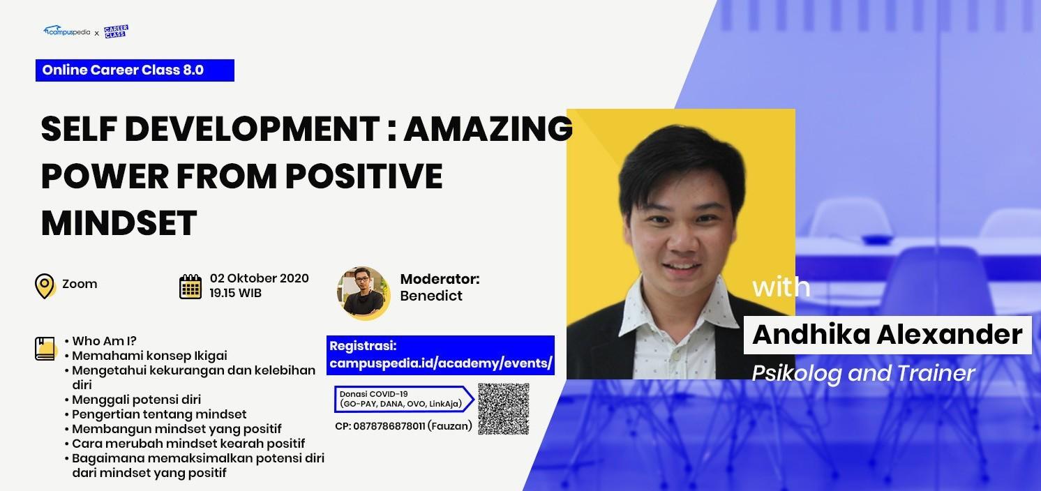 Self Development : Amazing Power From Positive Mindset