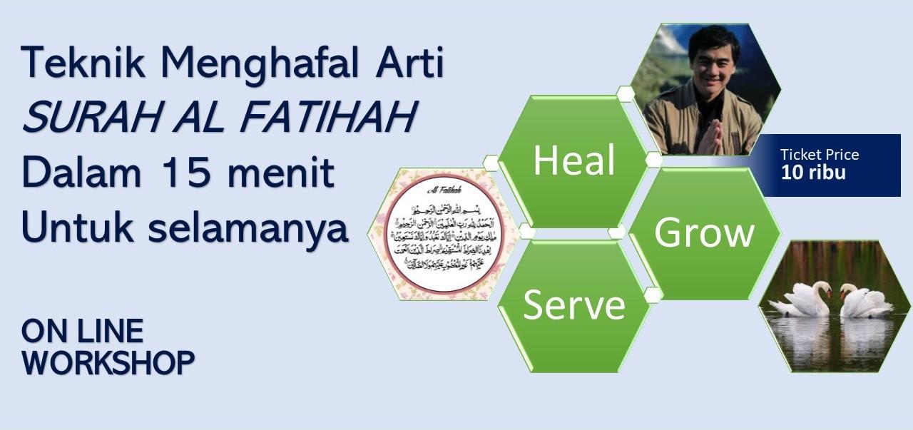 Menghafal Arti Surat Al Fatihah dalam 15 menit untuk Selamanya