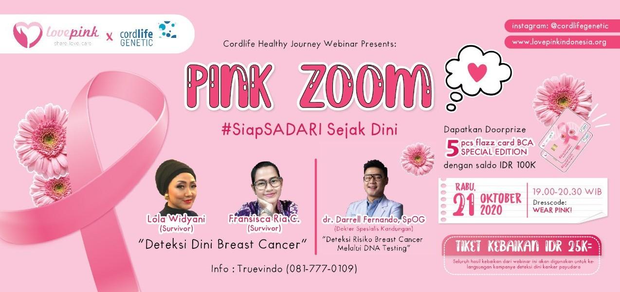 Jual Tiket Cordlife Healthy Journey Webinar Pink Zoom Loket Com