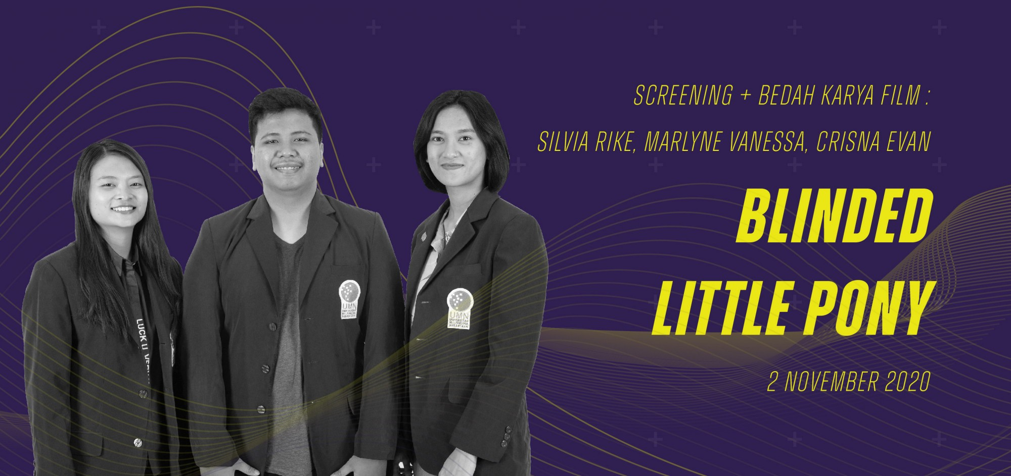 "Screening + Bedah Karya Film ""Blinded Little Pony"""