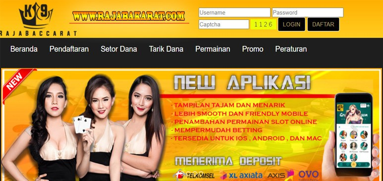 Situs Slot Online Deposit Via Pulsa Tanpa Potongan Rajabaccarat