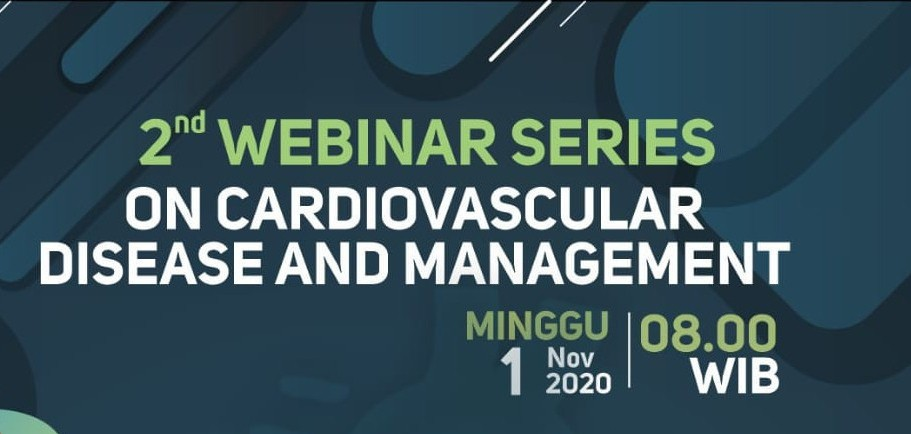 2nd Webinar Series on Cardiovascular Disease and Management