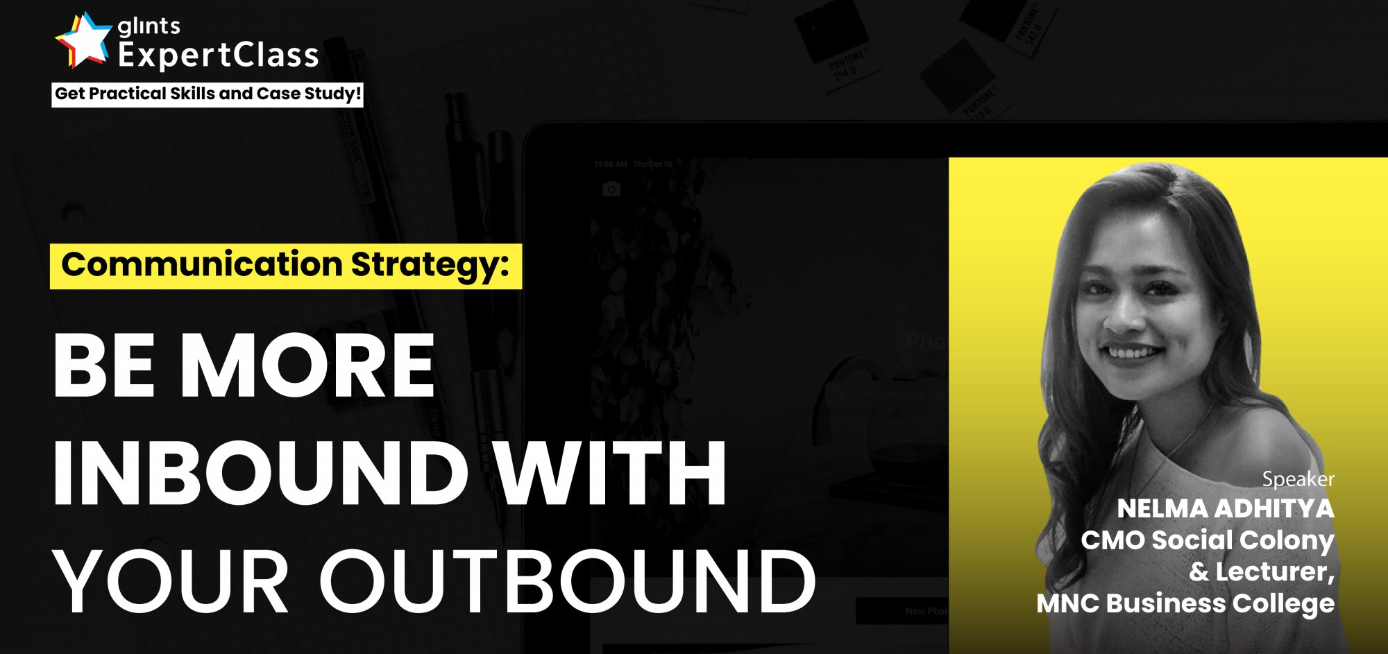 [Online Glints ExpertClass] Be More Inbound With Your Outbound