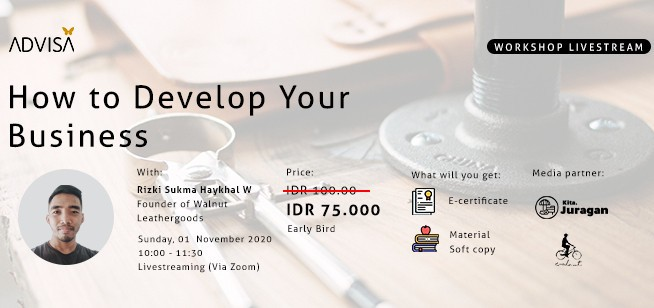 """ADVISA ACADEMY """"HOW TO DEVELOP YOUR BUSINESS"""""""