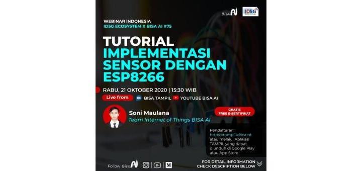 Tutorial Implementasi Sensor Dengan ESP8266