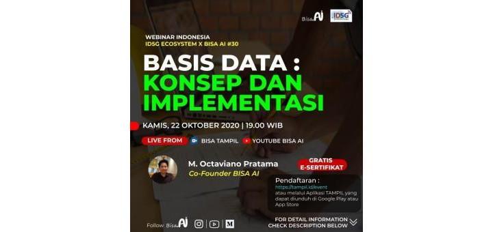 Basis Data  : Konsep dan Implementasi