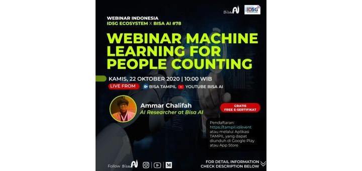 Webinar Machine Learning for People Counting