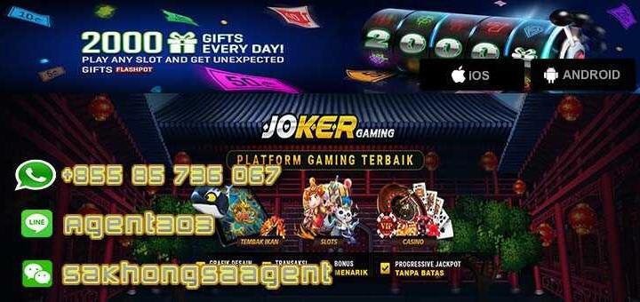 Jual Tiket Situs Agen Slot Online Judi Slot Terlengkap Joker123 Loket Com