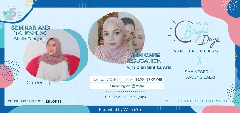 Wardah Bright Days x SMAN 1 Tanjung Balai