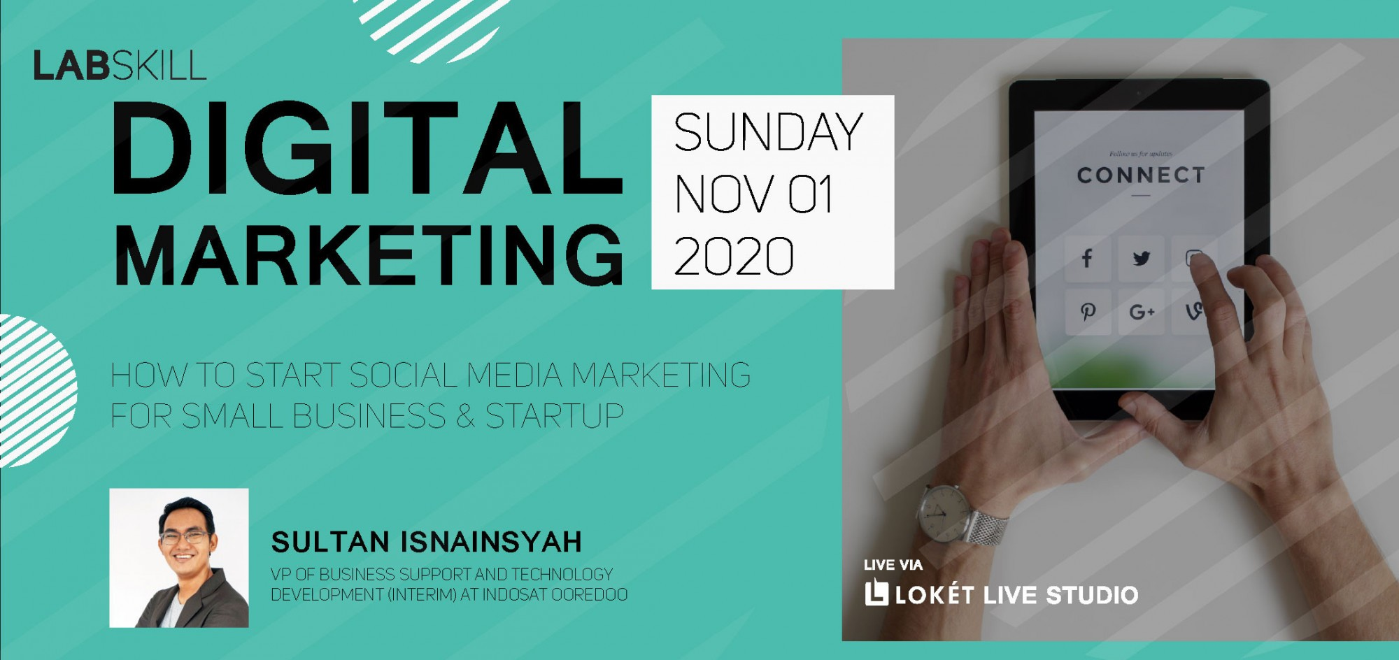 Digital Marketing Lab: How To Start Social Media Marketing For Small Business & StartUp