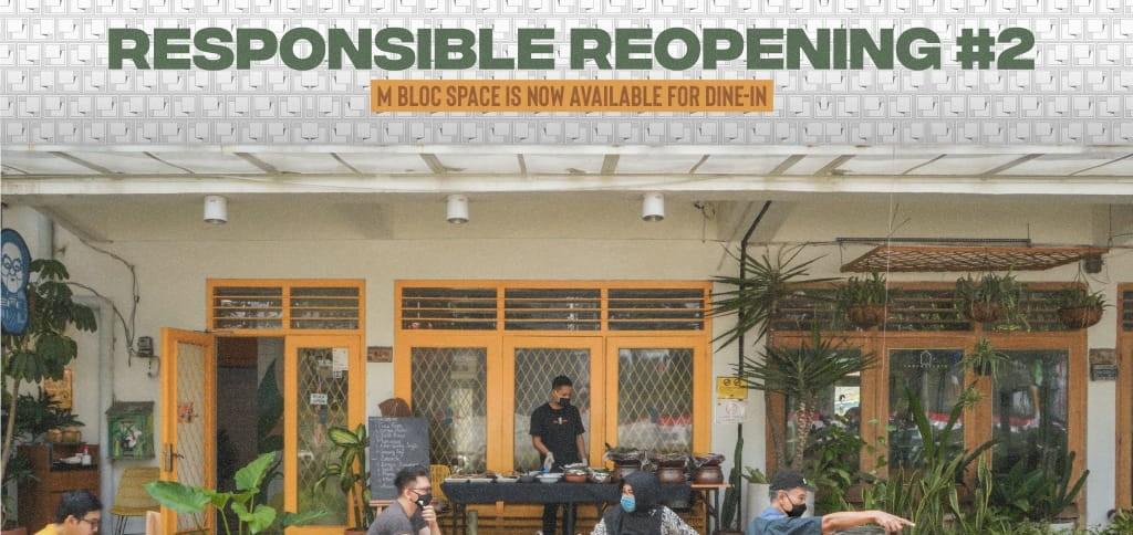 M Bloc Responsible Reopening E-Voucher - Sabtu (31/10/20)