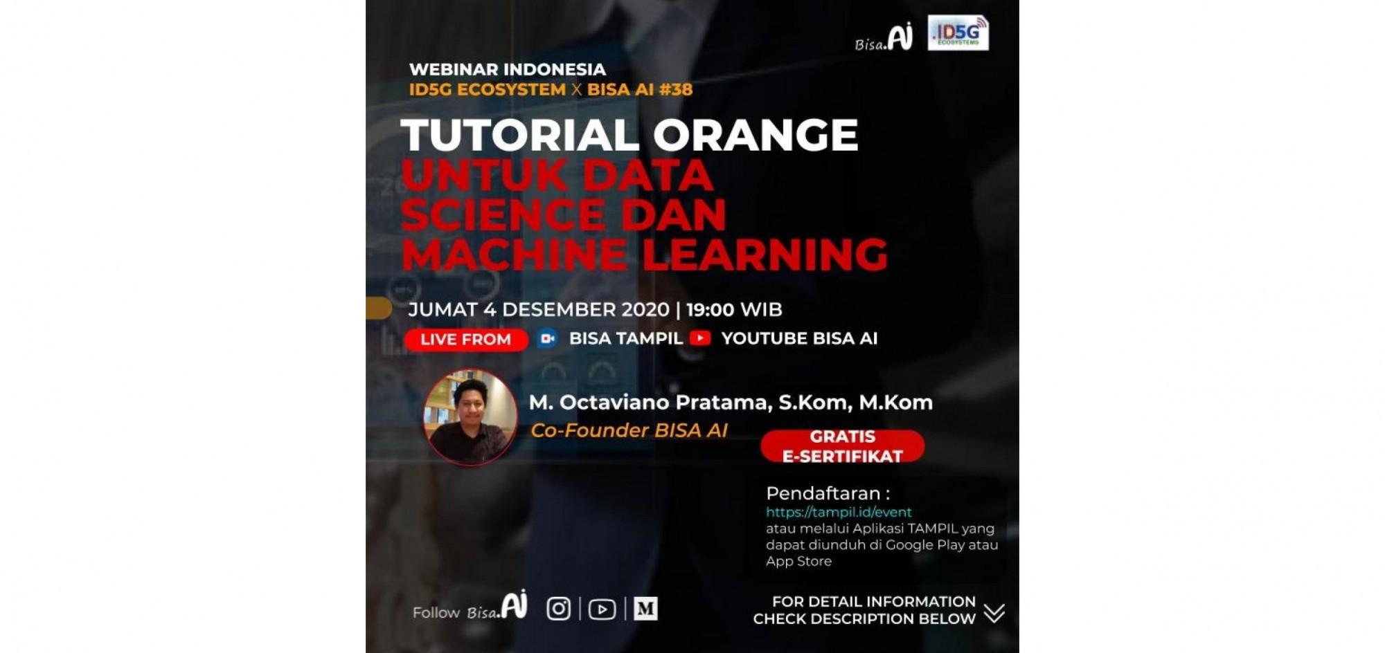Tutorial Orange Untuk Data Science dan Machine Learning