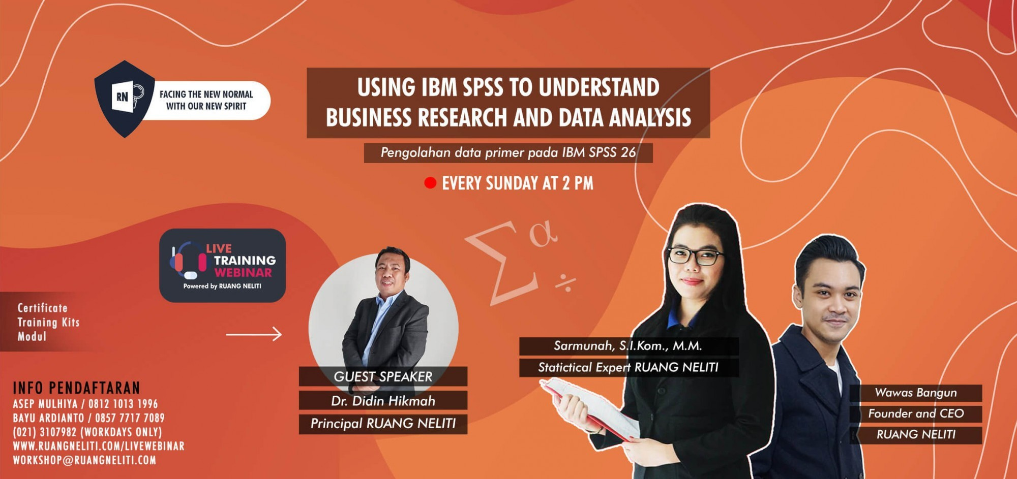 LIVE WEBINAR : USING IBM SPSS TO UNDERSTAND BUSINESS RESEARCH AND DATA ANALYSIS (DATA PRIMER)