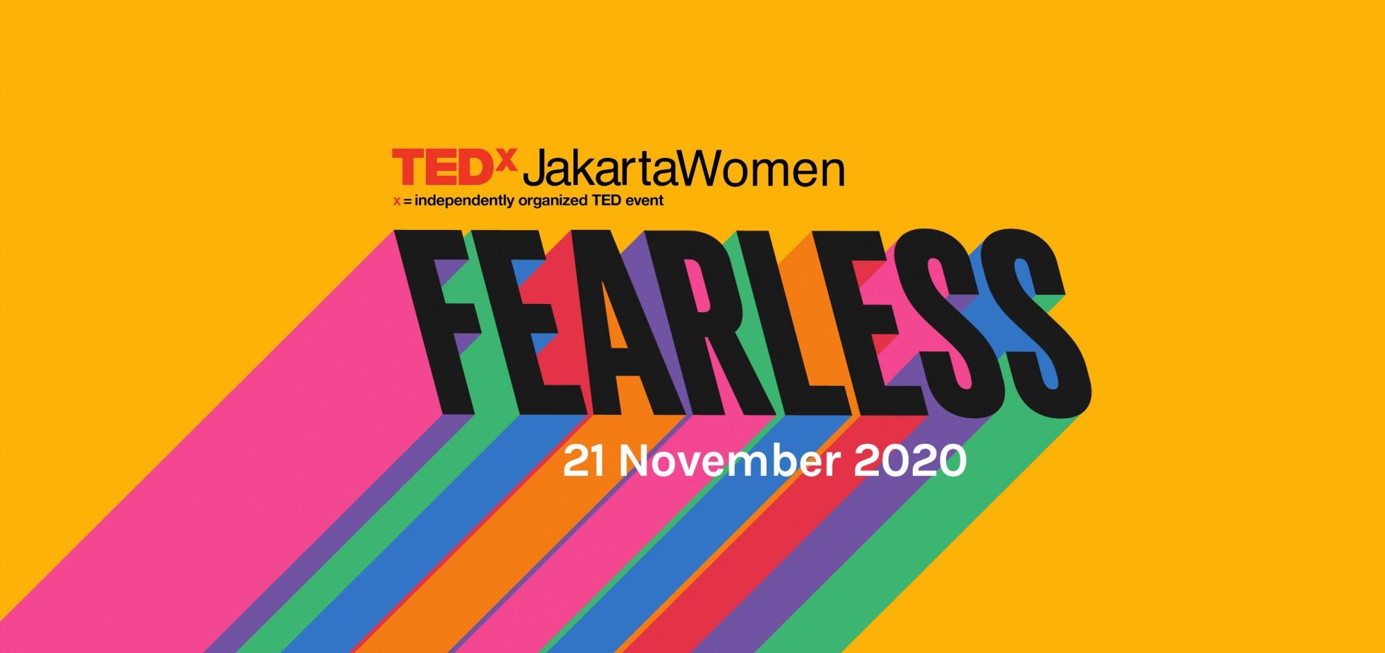 TEDxJakartaWomen: Fearless