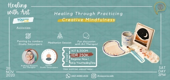 [Workshop] Healing with Art: Healing Through Practicing Creative Mindfulness