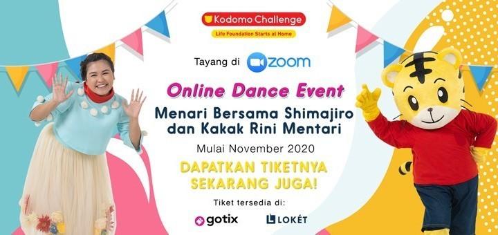 Shimajiro Dance Event (6 Des, 10:00 WIB)