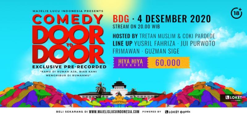 Comedy Door To Door Day Special Bandung  Surabaya Day 1