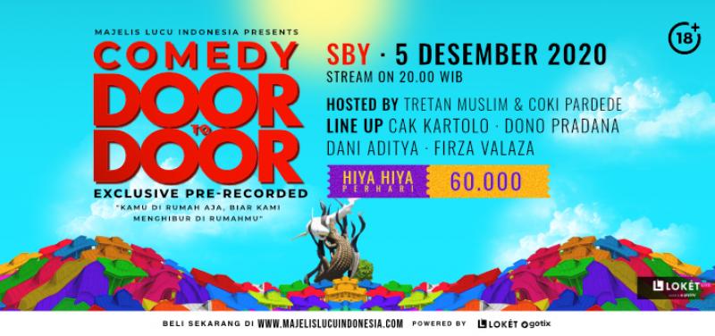 Comedy Door To Door Day Special Bandung  Surabaya Day 2