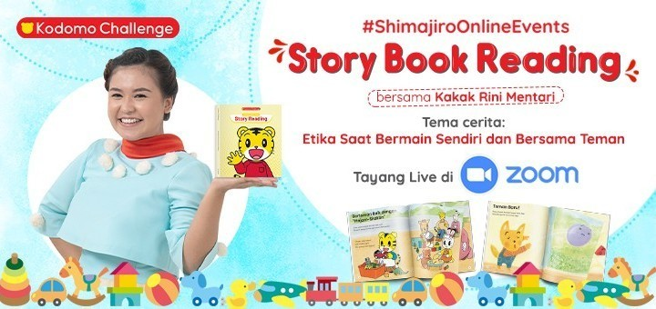 Story Book Reading (6 Des, 11:30 WIB)