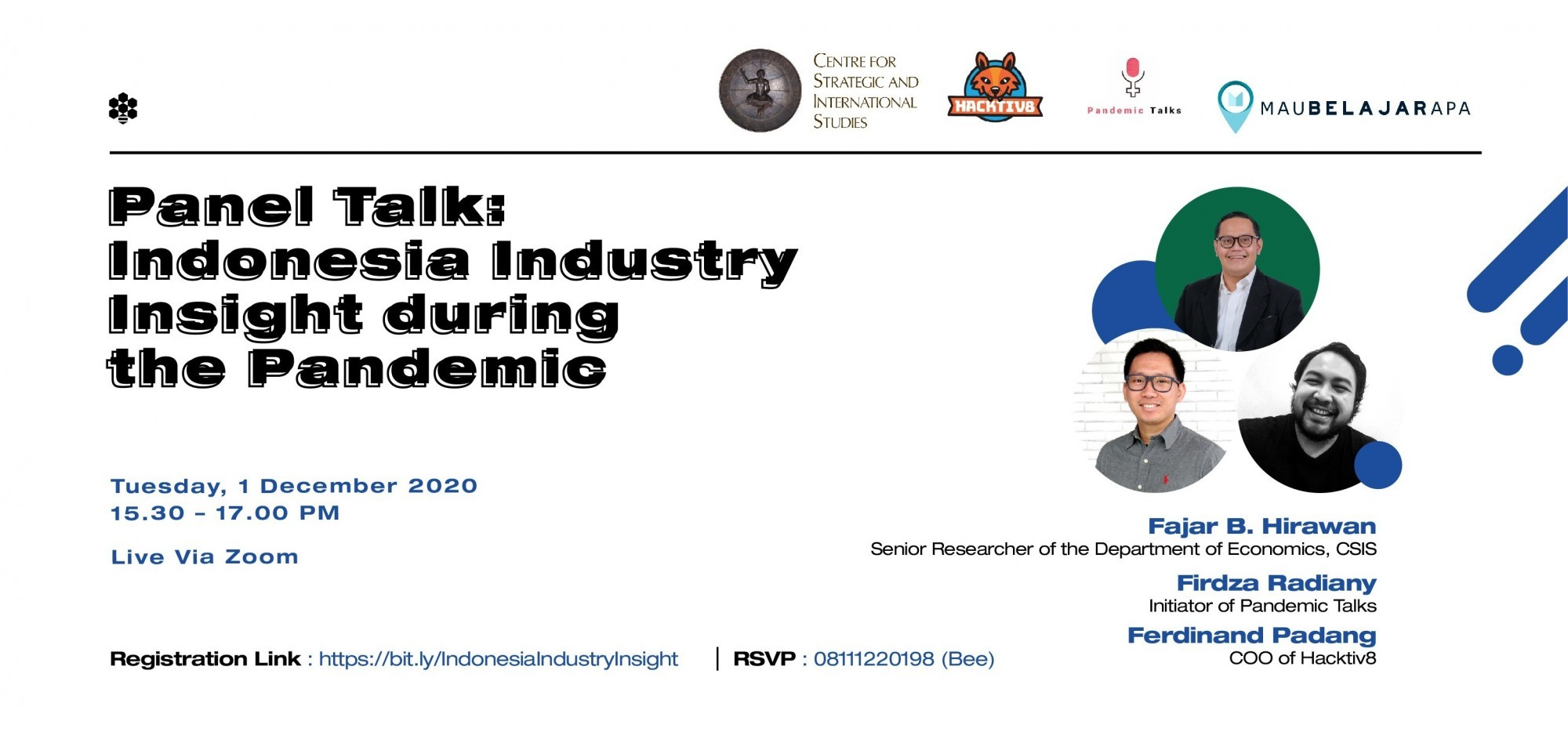 Panel Talk: Indonesia Industry Insight during the Pandemic