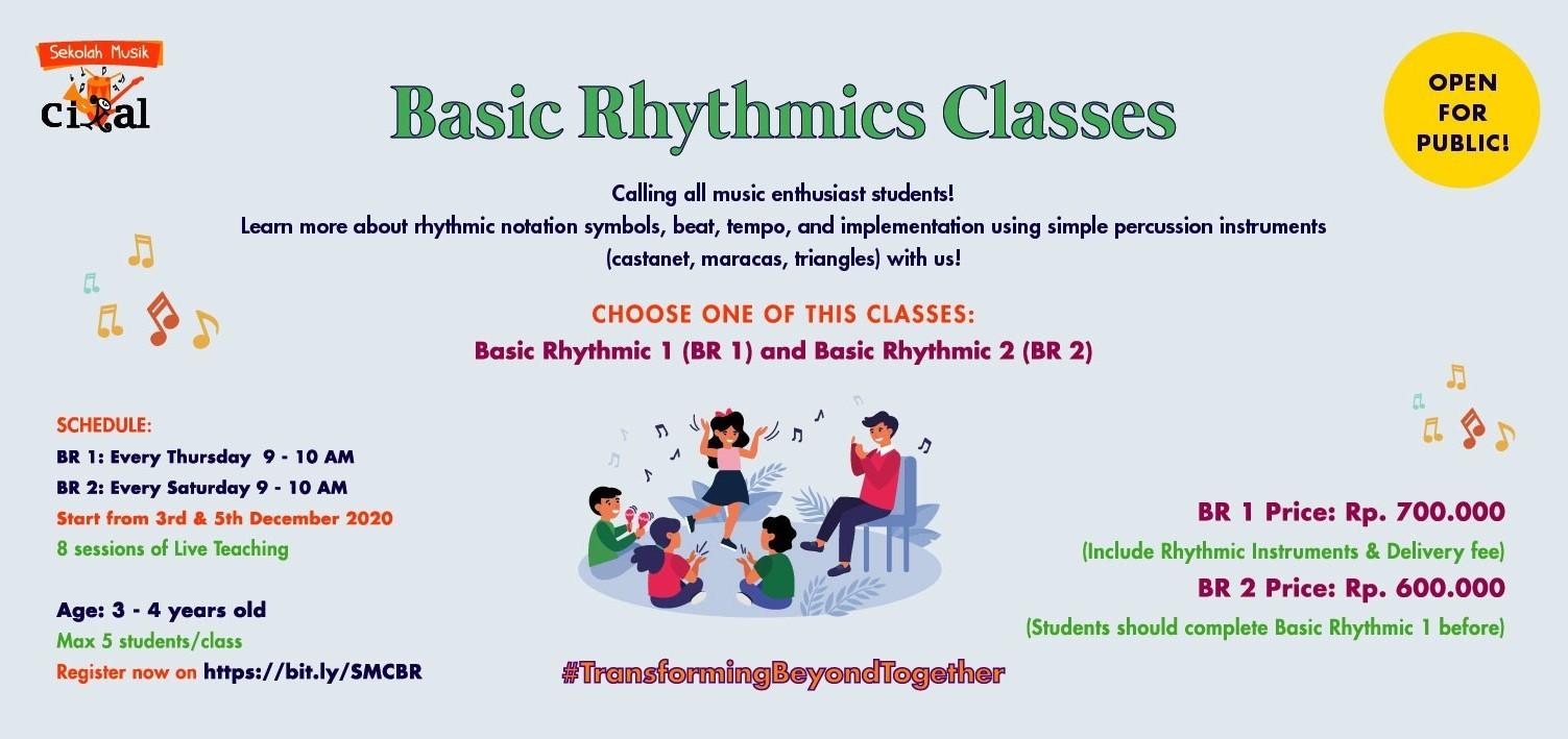 Sekolah Musik Cikal: Basic Rhytmic